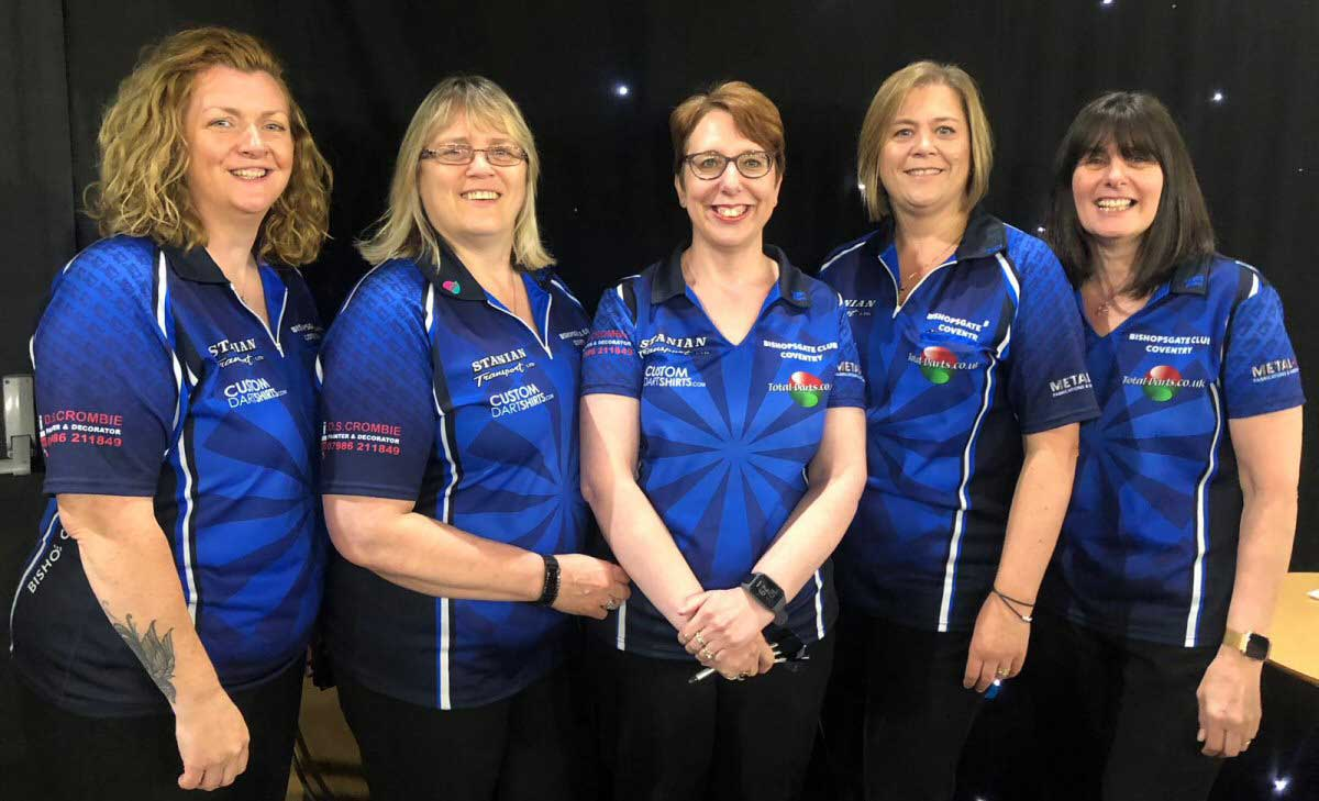 Warwicksire Ladies Champions Cup Team