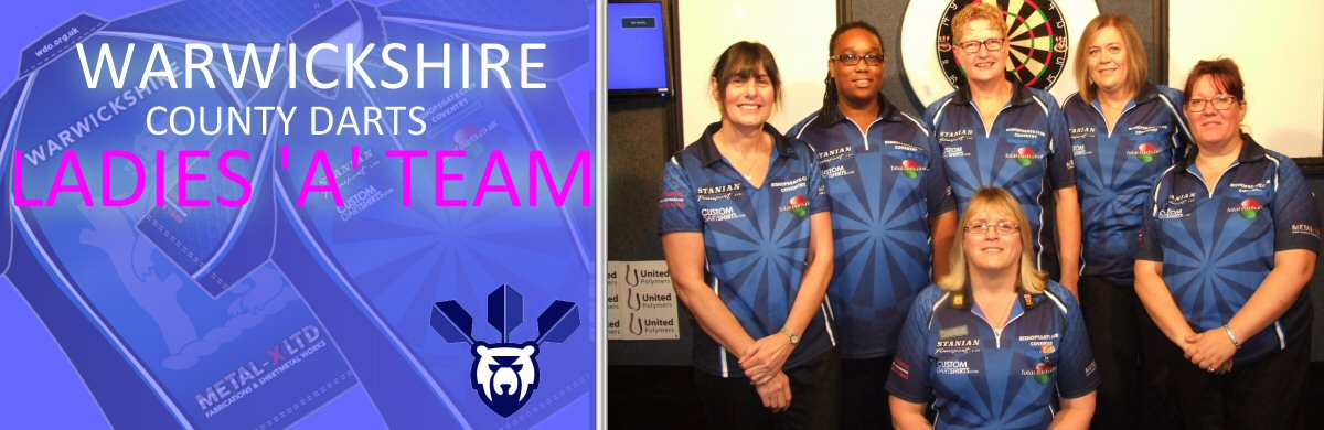 Warkwickshire County Darts Ladies A Team