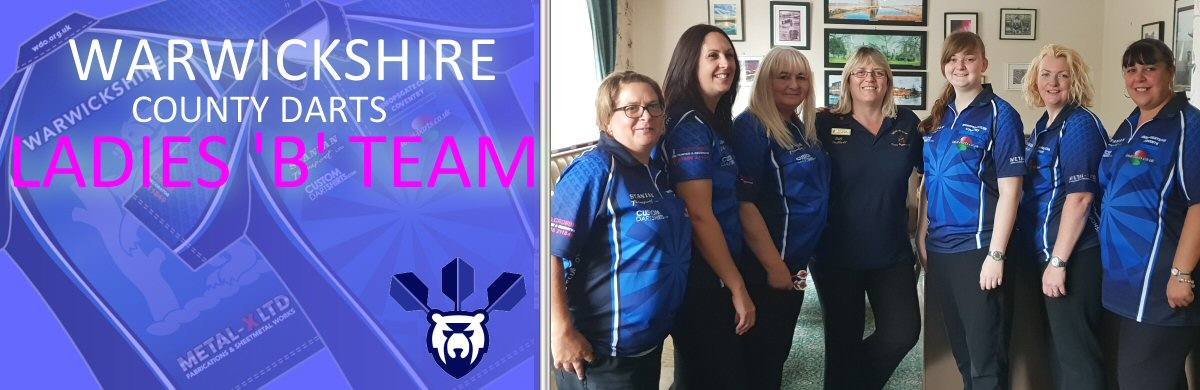 Warkwickshire County Darts Ladies B Team